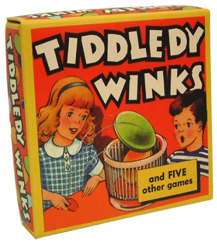 Tiddledy Winks- Retro Family Game